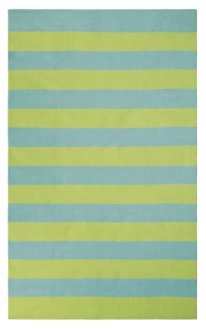 Company C Awning Stripe 10296 Lake Area Rug