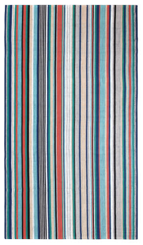 Company C Farmhouse Stripe 10731 Multi Area Rug