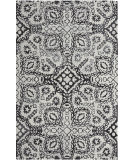 Company C Colorfields Wood Block 10827 Black - Neutral Area Rug