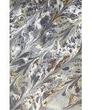 Company C Colorfields Caldera 10896 Gray Area Rug