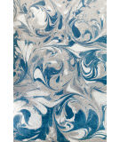 Company C Colorfields Arctic Circle 10899 Blue Mist Area Rug