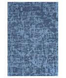 Company C Colorfields Crosshatch 10907 Slate Blue Area Rug