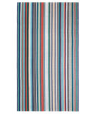 Company C Farmhouse Stripe 10731 Multi Area Rug