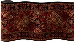 Couristan Everest Antique Baktiari Midnight 3721-4876 Custom Length Runner