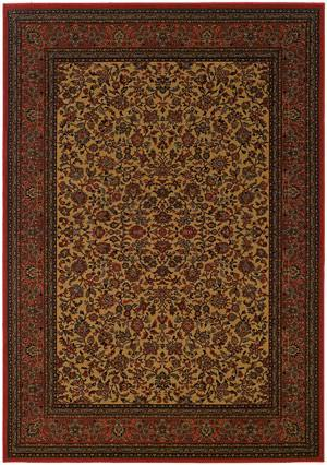 Couristan Everest Isfahan Gold 3791-4874 Custom Length Runner