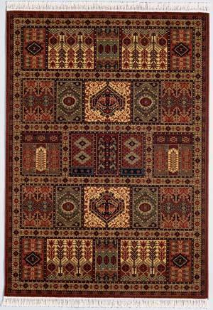 Couristan Kashimar Antique Nain Burgundy 7886-1945 Custom Length Runner
