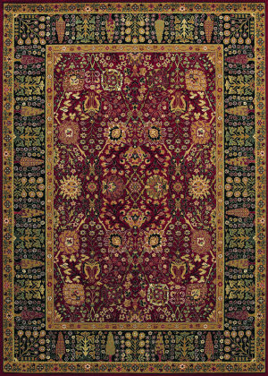Couristan Royal Kashimar Cypress Garden Persian Red Area Rug