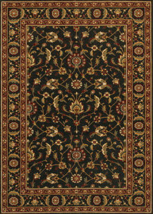 Couristan Royal Luxury Brentwood Ebony Area Rug