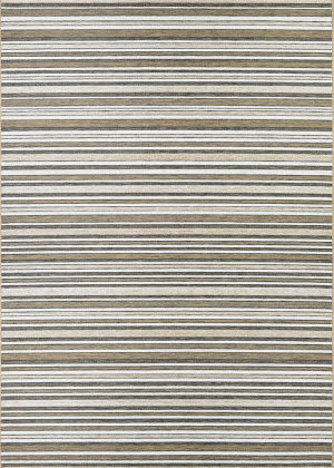 Couristan Cape Brockton Light Brown - Ivory Area Rug