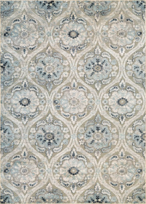 Couristan Cire Cherrington Greige - Antique Cream Area Rug
