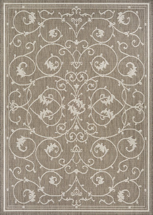 Couristan Recife Veranda Champ - Taupe Area Rug