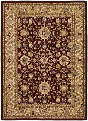 Couristan Anatolia Antique Kashan Red - Cream Area Rug