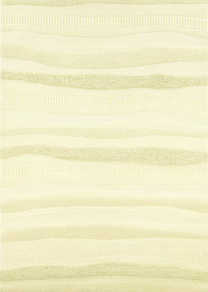 Couristan Super Indo Natural Impressions Stripe - White Area Rug