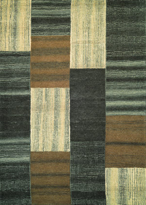Couristan Super Indo Natural Luster Brown Area Rug