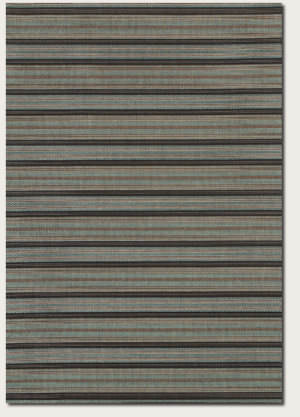 Couristan Monaco Coastal Breeze Brown - Blue Area Rug