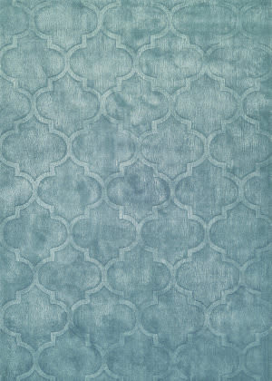 Couristan Matrix Karma Ice Blue Area Rug
