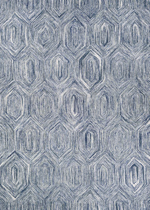 Couristan Crawford Princess Cut Denim - Ivory Area Rug