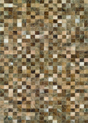 Couristan Chalet Pixels Brown Area Rug
