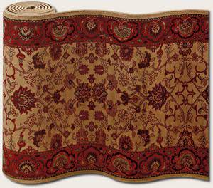 Couristan Everest Tabriz Harvest Gold 3773/4874 Custom Length Runner