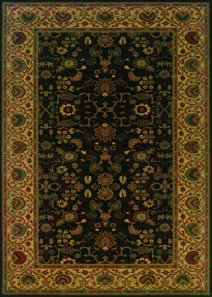 Couristan Everest Tabriz Midnight Area Rug