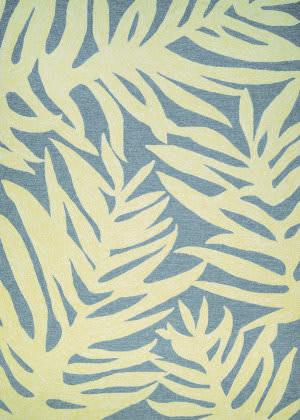 Couristan Covington Palms Azure Area Rug