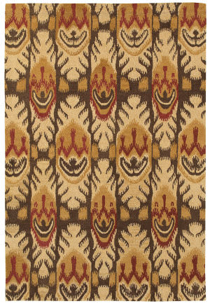 Couristan Sierra Vista Tucson Beige - Brown Area Rug