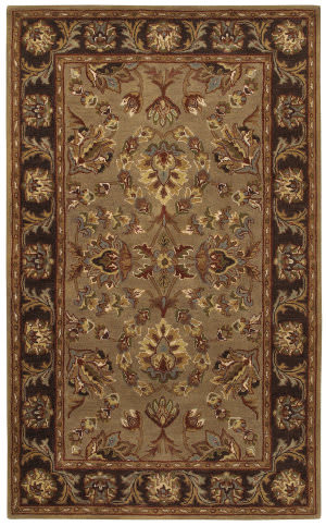 Couristan Castello Kenilworth Dark Beige Area Rug