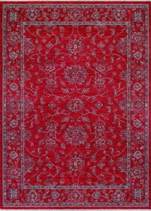 Couristan Elegance Althea Scarlet - Beige Area Rug