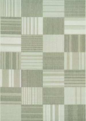 Couristan Afuera Patchwork Beige - Ivory Area Rug