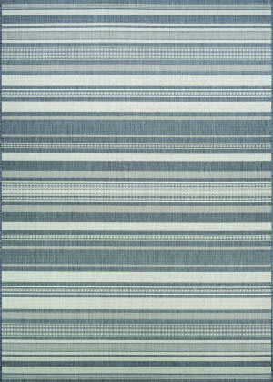 Couristan Recife Gazebo Stripe Champagne - Grey Area Rug