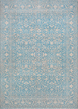 Couristan Patina Qum Ocean Area Rug