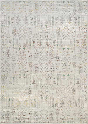 Couristan Patina Persian Cypress Ocean Sand Area Rug