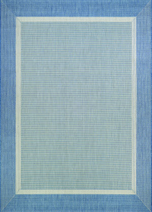 Couristan Recife Stria Texture Champagne - Blue Area Rug
