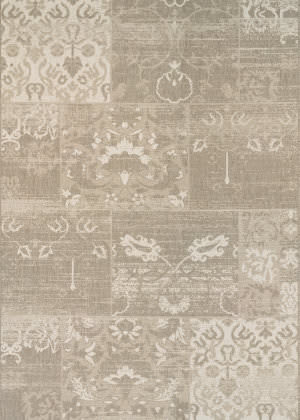 Couristan Afuera Country Cottage Beige - Ivory Area Rug