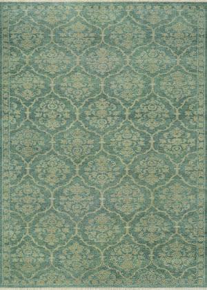 Couristan Tenali Floral Arabesque Sage Green Area Rug