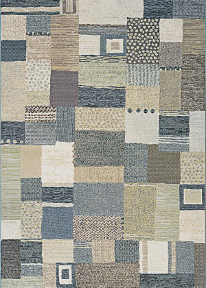 Couristan Easton Maribel Antique Cream - Grey Area Rug