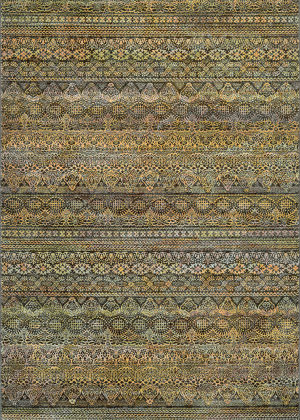 Couristan Easton Capella Brown - Multi Area Rug
