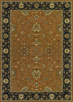 Couristan Izmir Floral Bijar Gold Area Rug