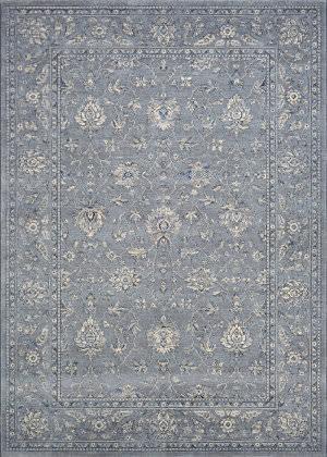 Couristan Sultan Treasures All Over Mashhad Slate Blue Area Rug