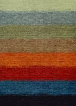 Couristan Oasis Lake Horizon Multi Color Area Rug