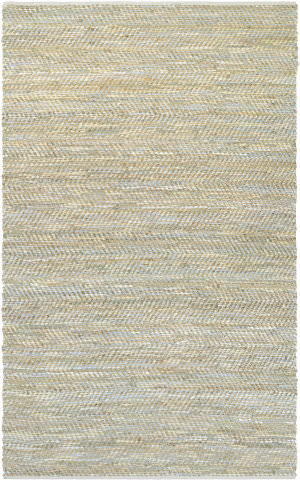 Couristan Nature's Elements Clouds Ivory - Oat - Sky Blue Area Rug