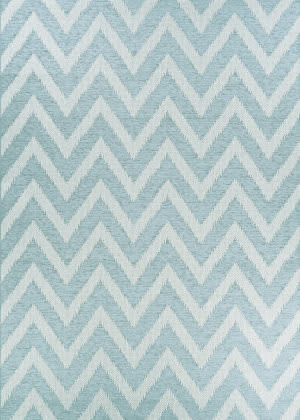 Couristan Timber Cascade Serenity Blue Area Rug