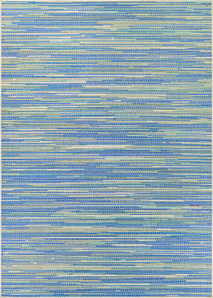 Couristan Monaco Alassio Sand - Azure - Turquoise Area Rug
