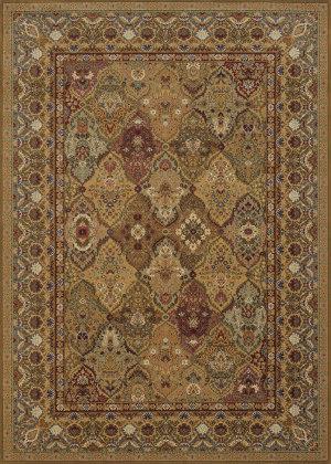 Couristan Royal Kashimar Persian Panel Hazelnut Area Rug