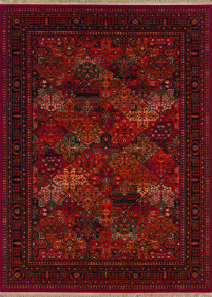 Couristan Kashimar Imperial Bakti Antique Red Area Rug