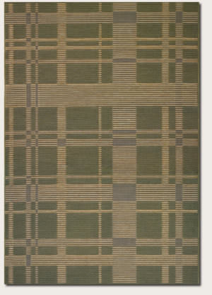 Couristan Berkshire Taconic Green - Corn Area Rug