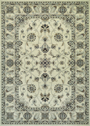 Couristan Everest Rosetta Ivory Area Rug