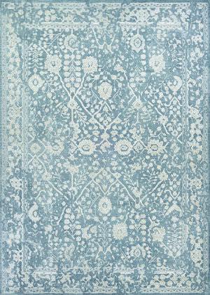 Couristan Marina Lillian Slate Blue - Oyster Area Rug