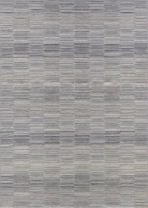 Couristan Cape Fayston Silver - Charcoal Area Rug