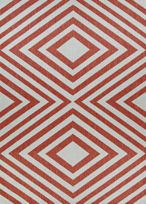 Couristan Outdurables County Fair Coral - Dune Area Rug